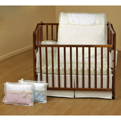 Classic Bows Cradle Bedding
