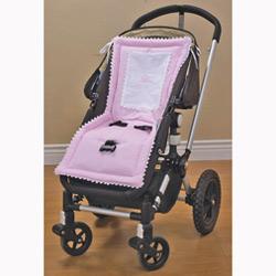 Baby Doll Ric Rac Stroller Liner