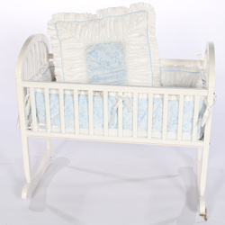 Baby Flower Cradle Bedding