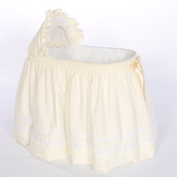 Baby Doll Lillian Bassinet Pillow and Blanket