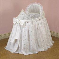 Baby Doll Organza Blossoms Blanket and Pillow Set