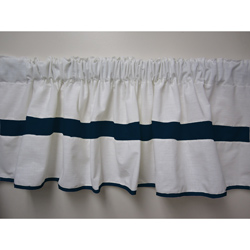 Baby Doll Double Hotel Window Valance
