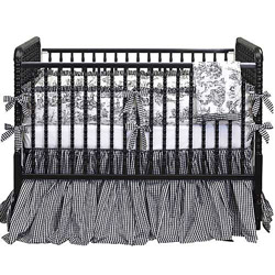 Baby Doll Gingham Toile Crib Bedding