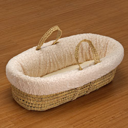 Baby Doll Cuddles & Kisses Moses Basket