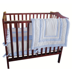 Baby Doll Double Hotel Porta Crib Bedding