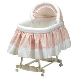 Baby Doll Pretty Pique Pillow and Blanket
