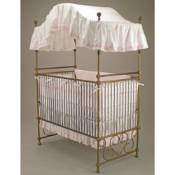 Regal Canopy Crib Sheet