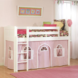 Princess Charlotte Low Loft Bed