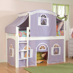 Princess Juliette Loft Bed