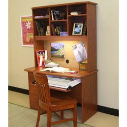Berg Furniture Sierra Computer Desk & Hutch