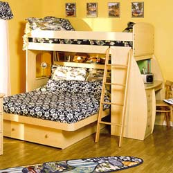 Berg Furniture Sierra Day and Night Super Loft Bed