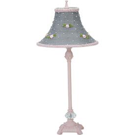 Jubilee Gingham Rosebud Lamp