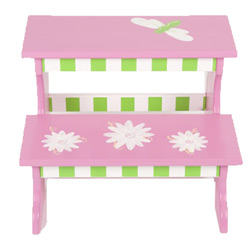 Sophie Dragonfly Two Step Stool