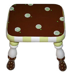 Chocolate Mint Swirls Stool