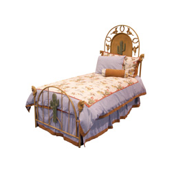 Blue Rodeo Twin Bedding Set