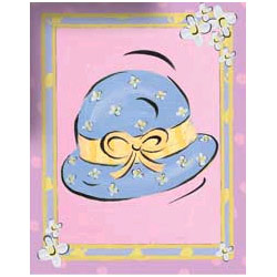 Art4Kids/Creative Images Bodacious Bonnet Wall Art