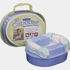 Caboose Travel Diaper Potty
