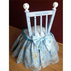 Blue Princess Chair