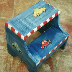 Cars Two Step Stool