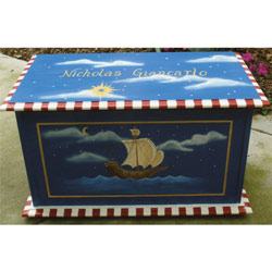 Ship Toy Box