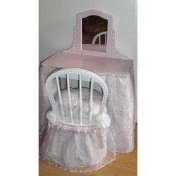 Little Miss Princess Vanity and Chair Set