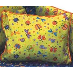 California Kids Bug Off Crib Pillow