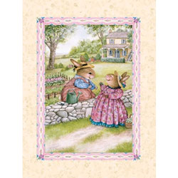 Art4Kids/Creative Images Bunny Gossip Wall Art