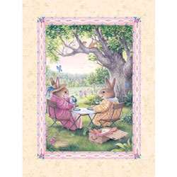 Art4Kids/Creative Images Bunny Tea Wall Art