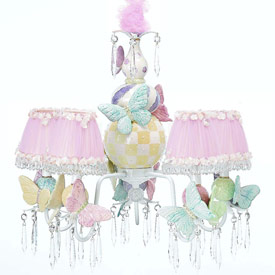 Just Too Cute Butterfly Chandelier