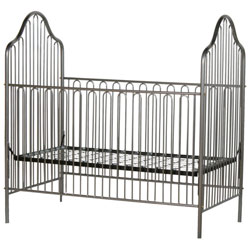 Corsican Arched Iron Crib