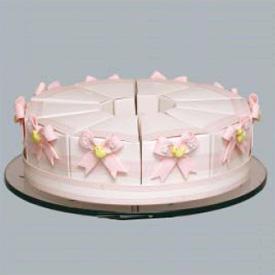 Marcela Pink Bows Favor Cakes