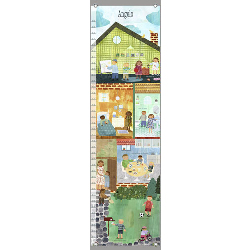 Oopsy Daisy/No Boundaries Can  Do Kids Personalized Growth Chart