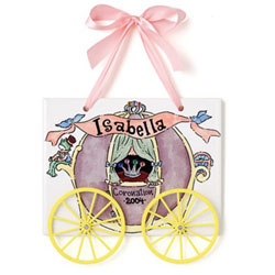 Jamies Painting and Design Princess Carriage Name Plaque