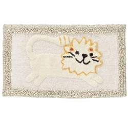 Animal Crackers Bath Rug