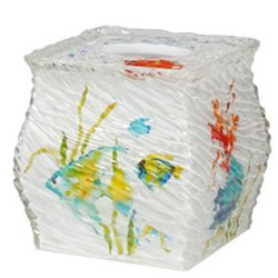 Rainbow Fish Tissue Box Holder