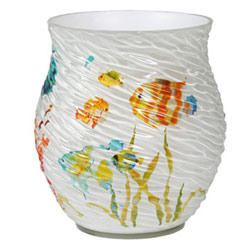 Rainbow Fish Wastebasket