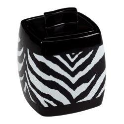 Zebra Cotton Jar