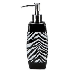 Zebra Lotion Pump