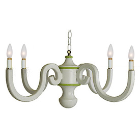 Cottage Scroll Chandelier