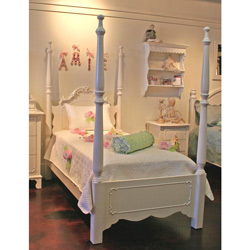 Simply Elegant Twin Bed