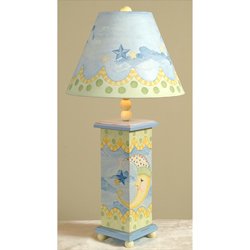 Moons and Stars Lamp