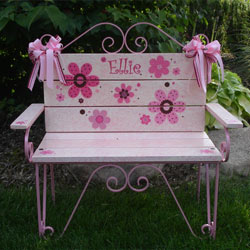 Flower Girl Toddler Bench