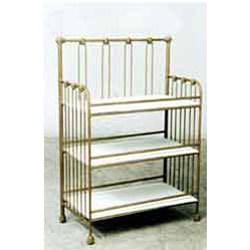 Corsican Custom Designed Iron Changing Table