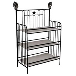 Corsican Horse & Star Iron Changing Table