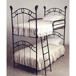 Corsican Western Finial Bunk Bed