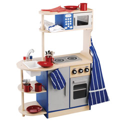Wooden Deluxe Kitchen