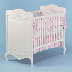Country French Rectangle Crib