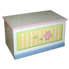Handpainted Daisy Toybox