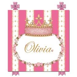 Posh Princess Crown Name Plaque