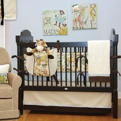 Doodlefish Explorer Crib Bedding Set